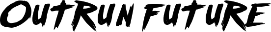 Outrun future Font
