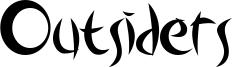 Outsiders Font