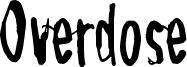 Overdose Font