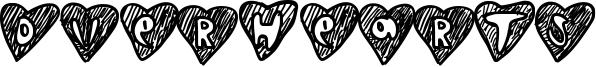 Overhearts Font
