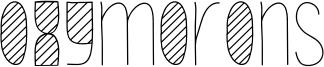 Oxymorons Font