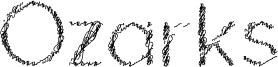 Ozarks Font