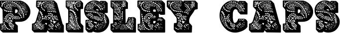 Paisley Caps Font