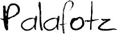 Palafotz Font
