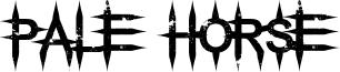 Pale Horse Font