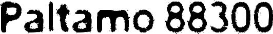 Paltamo 88300 Font
