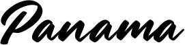 Panama Font