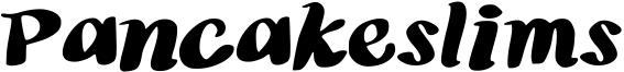Pancakeslims Font