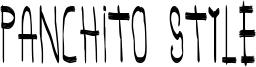 Panchito Style Font