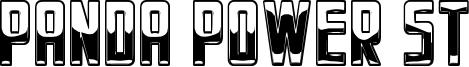 Panda Power St Font