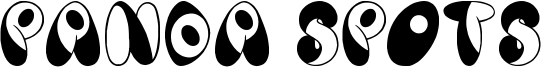 Panda Spots Font