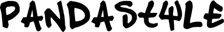 Pandastyle Font