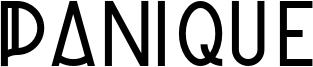 Panique Font