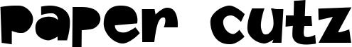 Paper Cutz Font