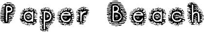 Paper Beach Font
