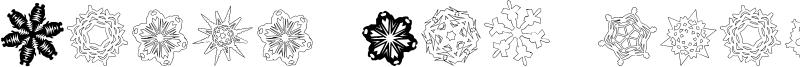 Paper-Snowflakes Font