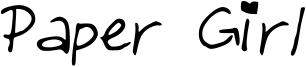 Paper Girl Font