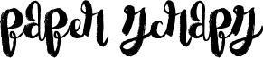 Paper Scraps Font