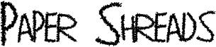 Paper Shreads Font