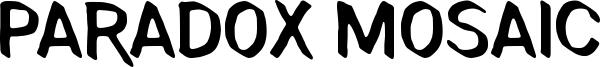 Paradox Mosaic Font