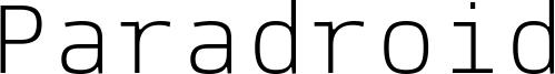 Paradroid Font