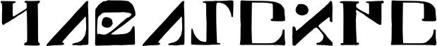 Paraghyph Font
