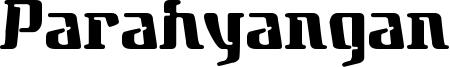 Parahyangan Font