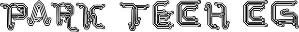 Park Tech CG Font