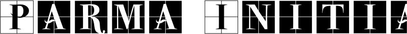 Parma Initialen MK Font