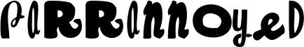 Parrannoyed Font