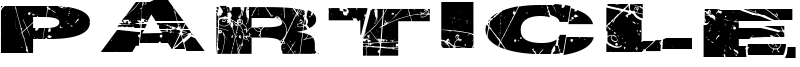 Particle Physics Font