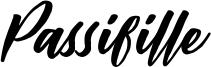 Passifille Font