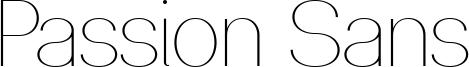 Passion Sans Font