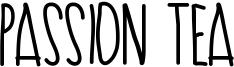 Passion Tea Font