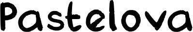 Pastelova Font
