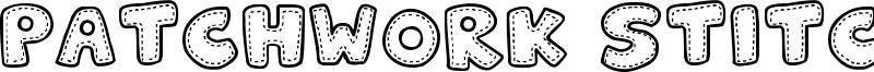 Patchwork Stitchlings Font