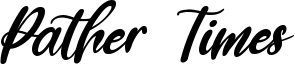 Pather Times Font