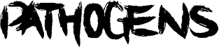 Pathogens Font
