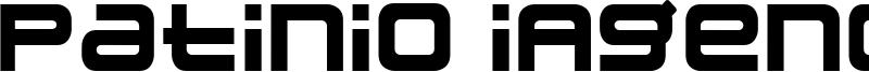 Patinio iAgency Font
