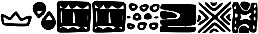 Patterns Font
