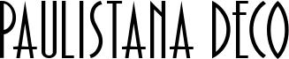 Paulistana Deco Font