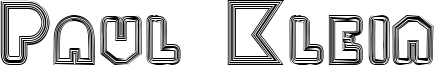 Paul Klein Font