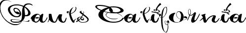 Pauls California Font