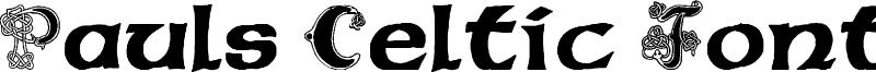 Pauls Celtic Font 2 Font
