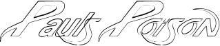 Pauls Poison Font