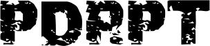 PDRPT Font