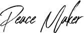 Peace Maker Font