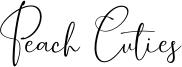 Peach Cuties Font