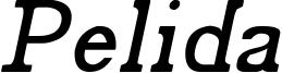 Pelida Italic.ttf