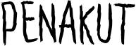 Penakut Font